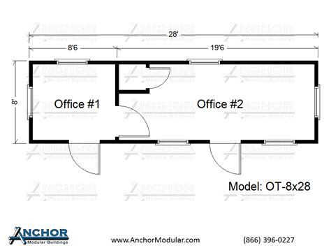 container office layout plan office trailer floor plans