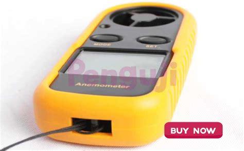 Digital Anemometer Ukur Kecepatan Angin Thermometer Anemo Meter alat pengukur kecepatan angin anemo meter amf006
