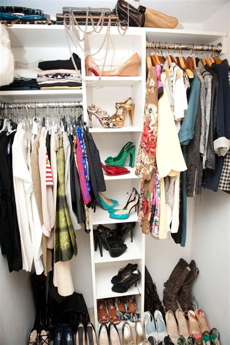 organizing small closet small closet organization casual cottage