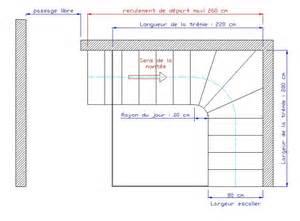 Plan Escalier Quart Tournant