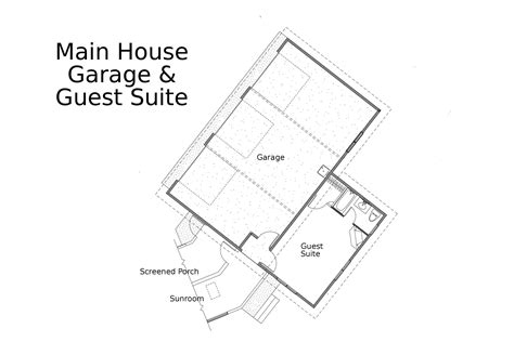 guest house plans with garage 21 harmonious garage guest house floor plans home