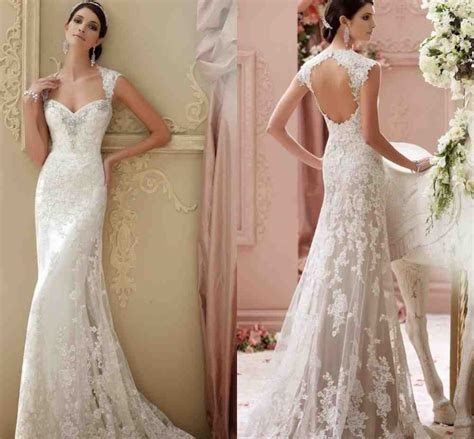Backless Sheath Dress sheath backless wedding dress wedding and bridal inspiration