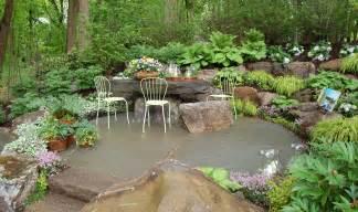 Landscape Rock Patio Rock Gardens Cording Landscape Design