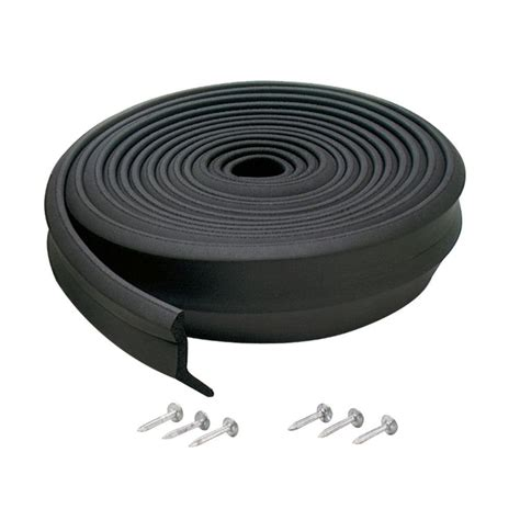 Garage Door Rubber Seal by M D Building Products 2 In X 16 Ft Rubber Replacement