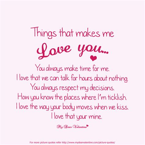 Love Quotes To Your Boyfriend by Love Quotes For Him Quotesgram