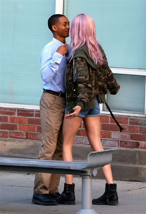 Jaden Set cara delevingne and jaden smith on the set of in a year in toronto 05 29 2017 hawtcelebs