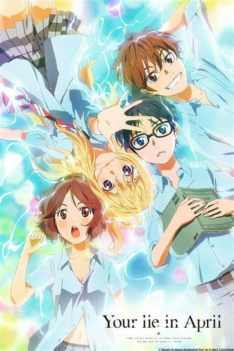 Anime Your Lie In April | takeshi aiza x emi igawa shigatsu wa kimi no uso your