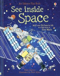 Usborne See Inside The Universe astronomy spaces and book on