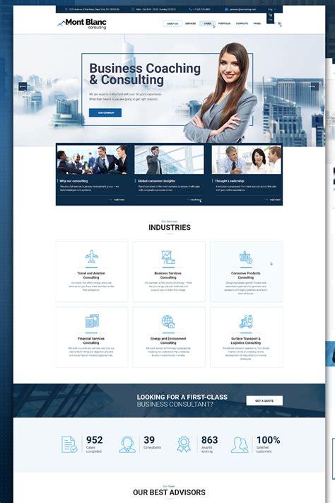 template personalizado consultoria de conte do por um pre o template web flex 237 vel para sites de consultoria 67874