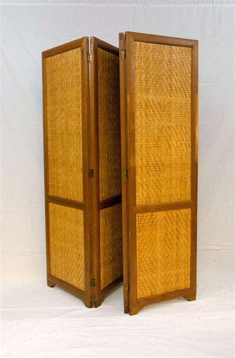 room section dividers mid century screen room divider four sections at 1stdibs