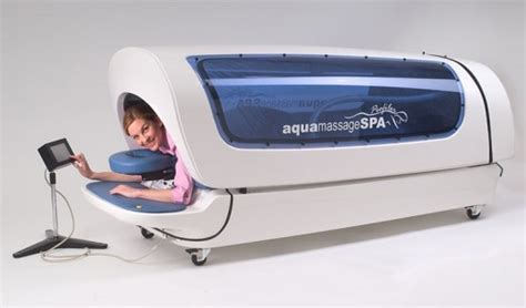 water massage bed aquamassage
