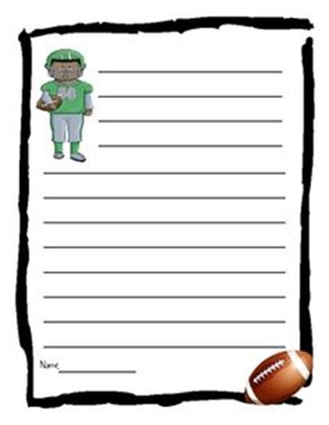 football writing paper 1000 images about teaching february bowl on