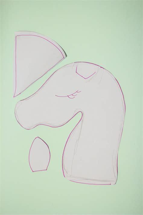 sewing pattern unicorn make it unicorn hobbyhorse with free pdf download