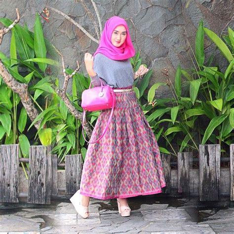model baju lebaran dian pelangi 2016 beragam koleksi fashion hijab masa kini yang penuh warna