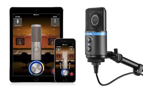 room microphone ik multimedia introduces mic room modeling app and irig mic studio condenser microphone