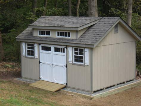 amish built   frame wood storage shed  upgraded