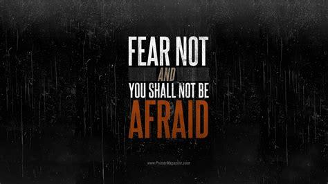 motivational monday fear       afraid