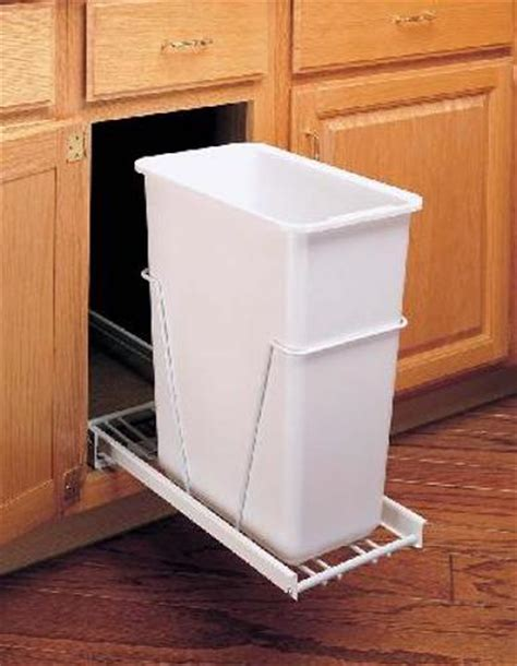 pull out cabinet trash can 30 quart in cabinet trash cans 30 quart pull out trash can white rv 9pb s
