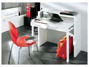 console bureau sisko 2 tiroirs bouleau 2 coloris