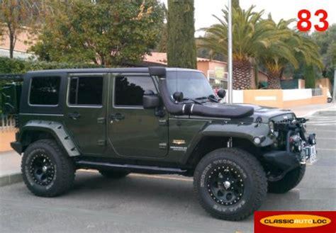 Location Jeep Wrangler JK 2009 kaki et noir 2009 Vert kaki et noir La Valette du Var