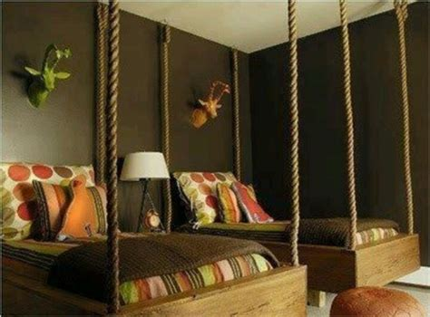 suspended bedroom 9 cool suspended beds for a kids bedroom kidsomania