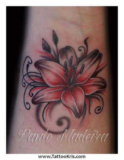 lily wrist tattoo tattoos page 31