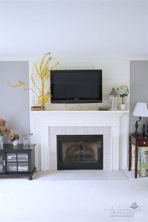 how to mount your tv and hide the wires without putting
