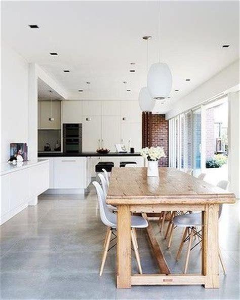 concrete kitchen floor best 25 concrete kitchen floor ideas on