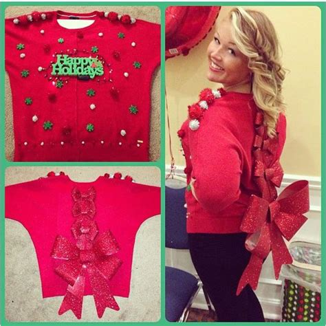 homemade ugly sweater ideas 21 creative ideas for diy sweaters gurl gurl