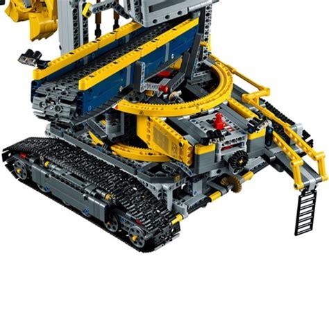 lego technic wheel excavator lego wheel excavator 42055 yuppie gadgets