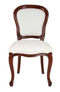 reproduction upholstered balloon back dining chair
