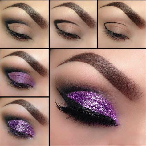 tutorial eyeliner mac glitter purple eyeshadow tutorial eyeshadow tutorials