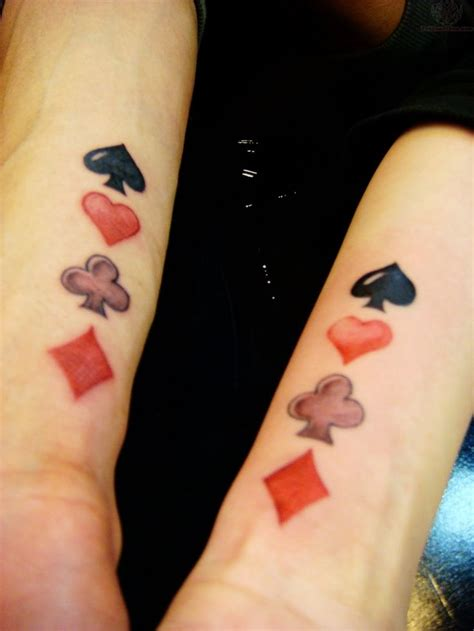 poker card tattoos designs best 25 ideas only on casino