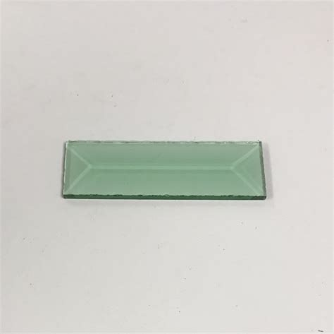 rectangular beveled glass top rectangle colored glass bevel 1 x 3 glass house store