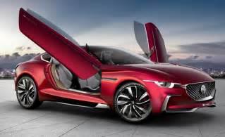 Future Electric Car Design Mg Motor E Vision Electric Concept Supercar Enters