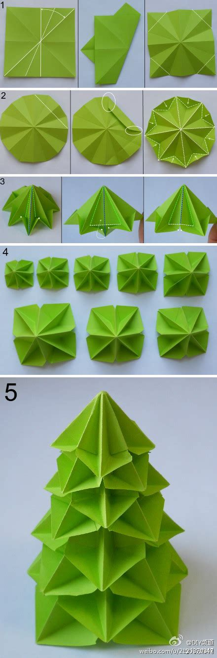 origami christmas trees origami tree we it