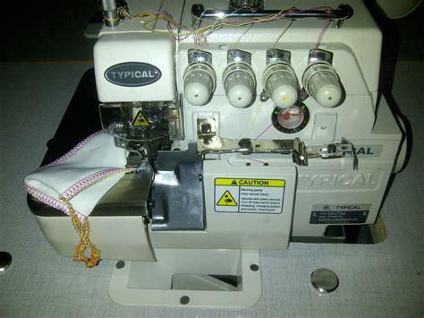 Mesin Obras Typical Benang 5 jual mesin jahit typical gc 6 28 1 harga murah jakarta