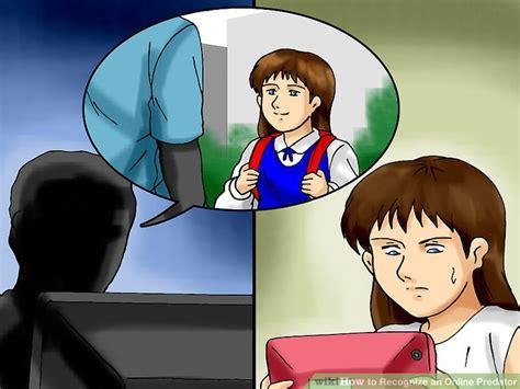 pimpandhost toon 3 ways to recognize an online predator wikihow