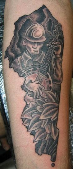 coal miner tattoos daily yonder new risk takers design a post coal economy