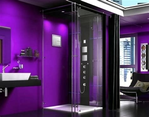 dark purple bathroom 45 pictures of innovative steam showers for a modern