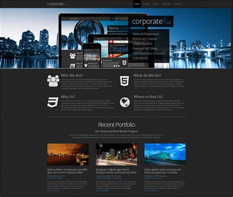 bootstrap themes premium free corporate bootstrap themes templates free premium