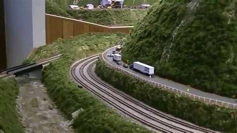 model railroader video layout tour n j lines n scale model railroad layout tour