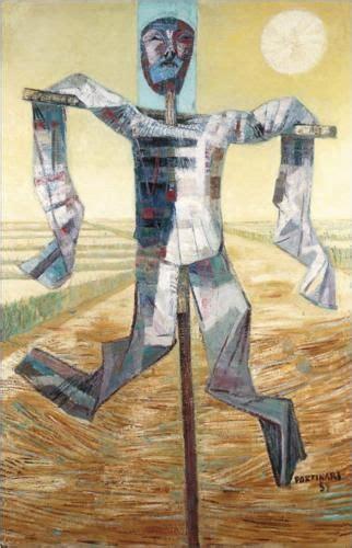 plantadores de arroz scarecrow candido portinariem minha terra plantadores de