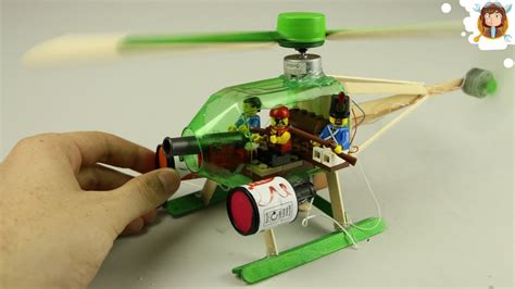 How To Make A L At Home With Paper - helicopter lego