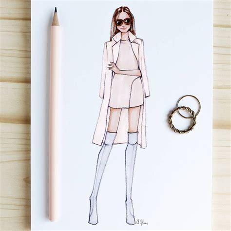 Drawing K On Style by Style Of Brush By Gizem Kazancıgil Fashionillustration