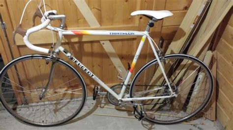peugeot bike vintage peugeot triathlon vintage road bike racer racing bicycle