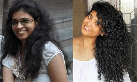 curly hairs with partial straightening photos how to get your curls back after chemical straightening