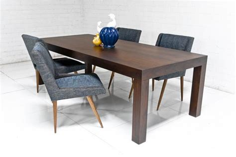 Parsons Table Restaurant by Www Roomservicestore Parsons Dining Table In Walnut