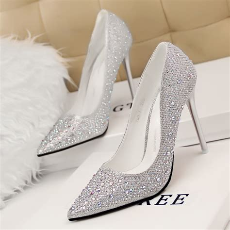 Silver Wedding Shoes For by Comfortable Silver Shoes For Wedding Trellischicago