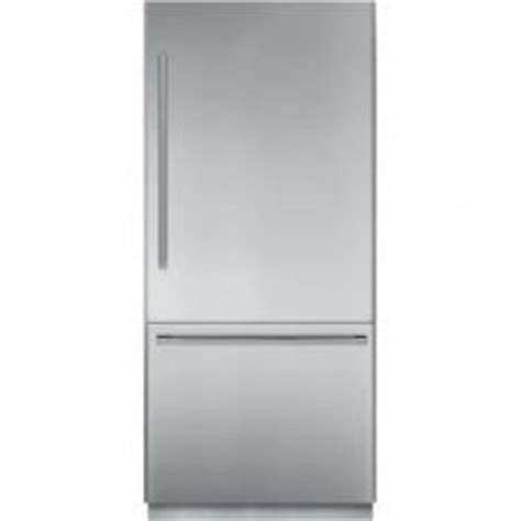 thermador 30 refrigerator freezer t30ib800sp thermador freedom 30 quot built in bottom freezer refrigerator custom panel